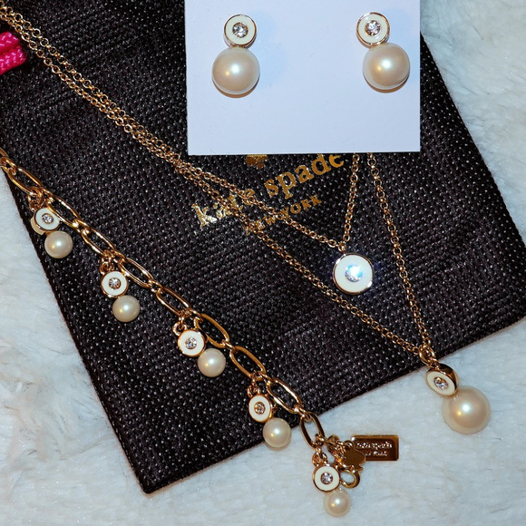 kate spade Jewelry - Kate Spade Pearly Delight Set